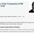 Joseph Sepp Faszfej Blatter