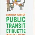 Tömegközlekedési alapismeretek és etikett