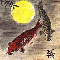 Kínai hal ábrázolások