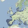 Halászhajó támogatási térkép