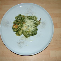 Variációk zöld gnocchira