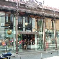 Madrid, Mercado de San Miguel 1. - ízek, illatok, szerelmek, és hal meg sonka.