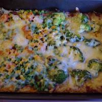 Lila hagymás - Tarjás - Zöldséges pizza ala HPE
