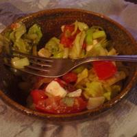 Egyszerű görög saláta