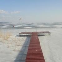 Jég borítja a Balatont
