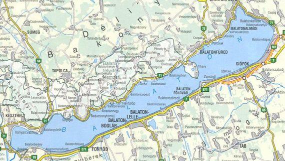 Balaton Térkép Google