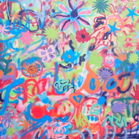 Nem hiszem el, hogy egy aranyos nagyi csinálta a hátam mögötti graffitit!!!