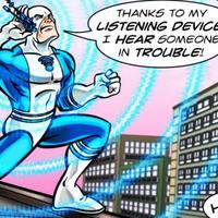 A Marvel megmutatta, hogy mennyire menő egy hallókészülék: ő Blue Ear, a szuperhős