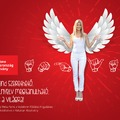 A Vodafone Főállású Angyala 2013-2014-ben Weisz Fanni