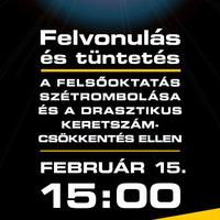 Az utolsó nyílt nap - Tüntetés február 15-én!
