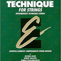 'VERIFIED' Essential Technique For Strings (Original Series): Cello. Yahoo kaise Program carreras Kenyatta times