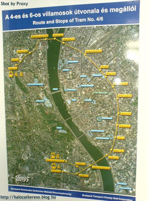 BKV térkép