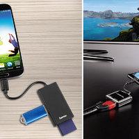 A telefonok USB portja nemcsak töltésre és fájlmásolásra lehet jó!