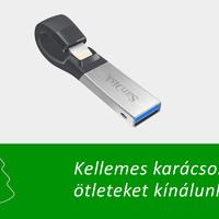 Ajándékötlet karácsonyra: SanDisk iXpand Flash Drive