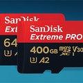 SanDisk Extreme és Extreme Pro memóriakártyák: a profik választása