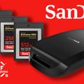 Két új nagy kapacitású CFExpress kártya a SanDisktől