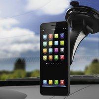 Autós és kerékpáros telefontartó bármilyen mobilhoz