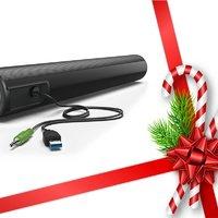 Karácsonyi ajándéktipp: multimédia hangszóró notebookhoz