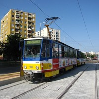 Próbamenet Szeged új villamosvonalán