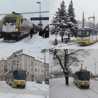 Szeged hóban-fagyban
