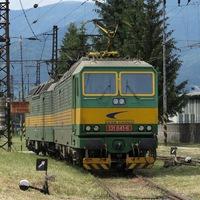 Többszekciós villanymozdonyok Szlovákiában