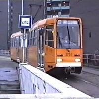 Ma már nem közlekedő villamos a ma már nem járó vonalon