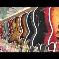 Látogatás a Gibson Gitártermelő Vállalatnál