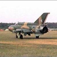 Kempingezés MiG-21-essel