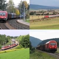 Vonatnézőben Ausztriában
