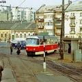 A csehszlovák villamosok budapesti bevonulása