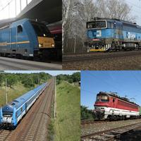 Vonatfotós kirándulások Bécstől Malackán át a Kis-Kárpátokig