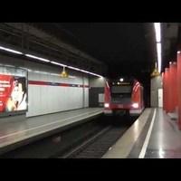 Vonat a belváros alatt: a müncheni S-Bahn