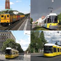 Berlini tömegközlekedési életképek 2012 augusztusából