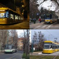 Szeged: új villamossal az új vonalon