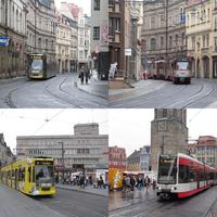 Halle: eső és kanyargás