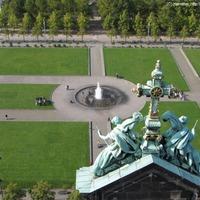 A Berlini Dóm kupolájáról nyugat-délnyugat felé nézve
