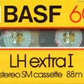 Lakásszerte világhírű kazetták: a 80-as évek elejének BASF-ei (-jei?)