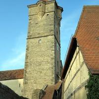 Séta a középkorban: tornyok és házak Rothenburg ob der Tauberben
