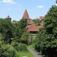 Nürnberg belvárosa: a középkortól a metróig