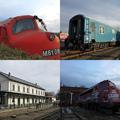 Téli majális, sok mozdonnyal :)