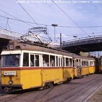 A várost átszelő villamosok Budapestje