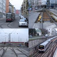 Bécs ősszel - képek, videók, villamosokról, vonatokról
