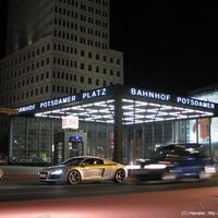 Pályaudvar a Potsdamer Platz alatt