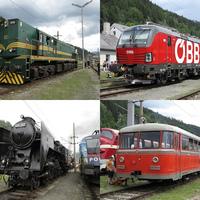 Nemzetközi vasúti nosztalgia találkozó Mürzzuschlagban