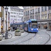 München villamosai. Meg buszai, S-Bahnjai és metrói. De leginkább villamosai.