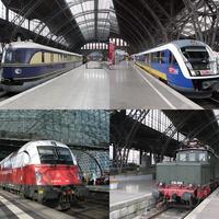 Németországi vonatozgatások