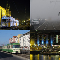 Budapesti tömegközlekedési életképek, ősztől tavaszig
