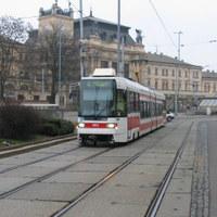 Brno villamosai reggel, délután és este