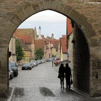 Séta a középkorban: Rothenburg ob der Tauber városfala