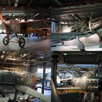A berlini Deutsches Technikmuseum repülős kincsei